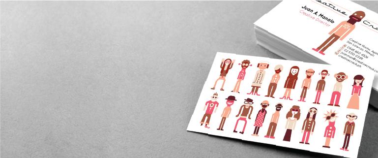 Semi-Gloss Business Cards - Banner