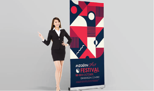 Roll Up Banners - Banner